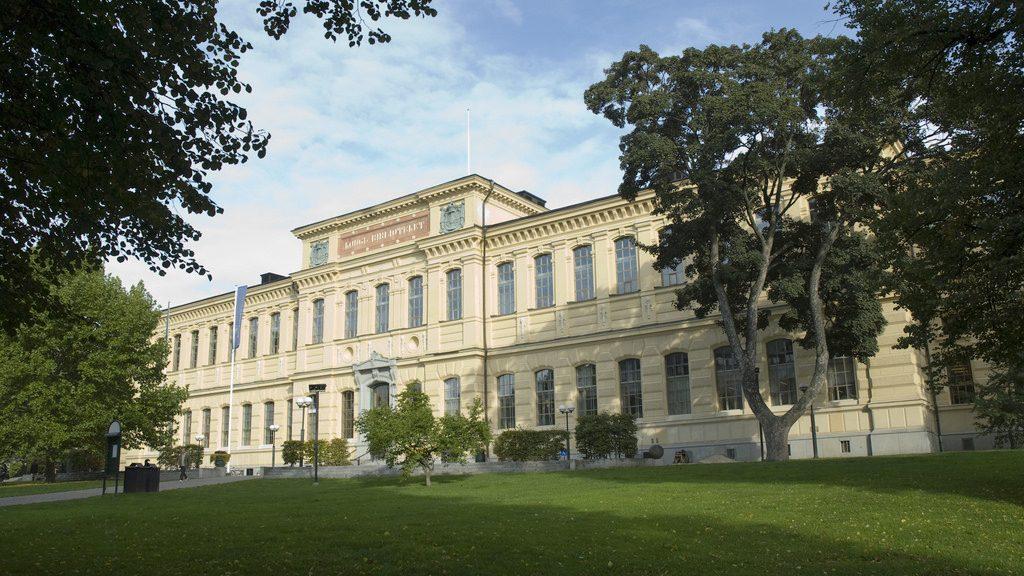 Kungliga biblioteket. Foto: Istvan Borbas/KB
