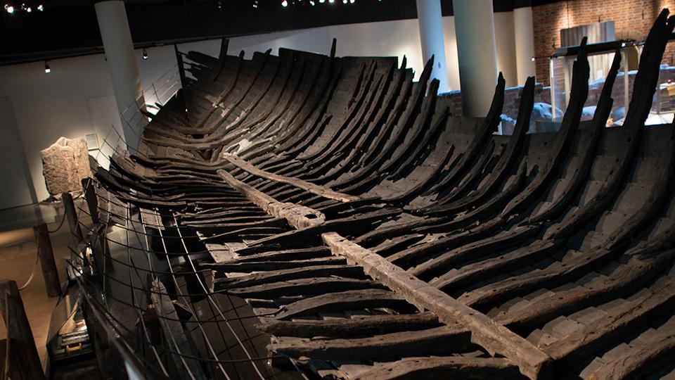 Riddarholmsskeppet. Foto: Medeltidsmuseet