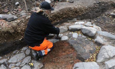 Unik senmedeltida bebyggelse har hittats i Lödöse