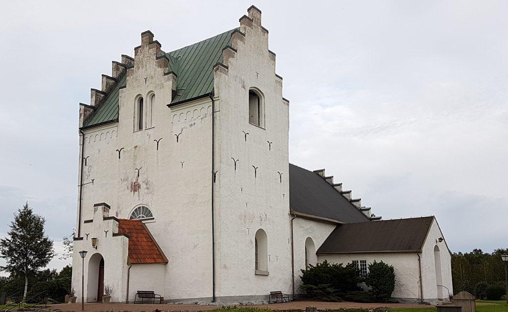 Våxtorps kyrka. Foto: Peter Kristensson/Klingsbergs Förlag