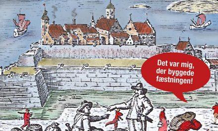 Vi byggde Varbergs fæstning