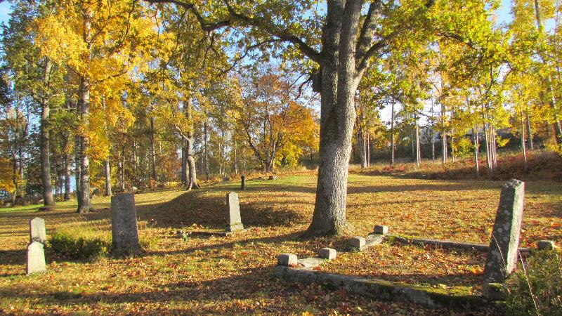 Begravningsplatsen vid S:ta Gertruds sjukhus i Västervik. Foto: Carina Andersson Sarge/Psykiatriska museet