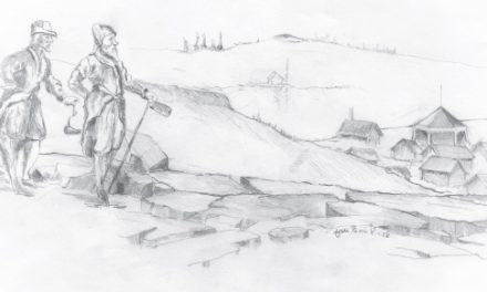 Järnbergen i Tylöskogen