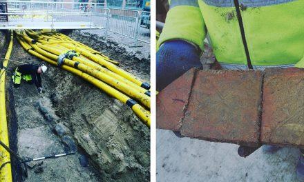 Arkeologer fann rester av kyrka i centrala Lund