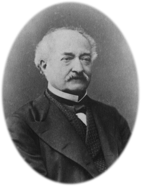Portrait de François Blanc (1856-1877) origine : archives de Bad Hombourg