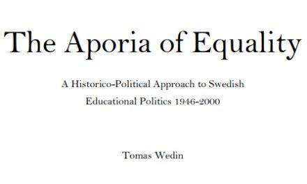 1970-talets syn på jämlikhet banade väg för 1990-talets skolpolitik