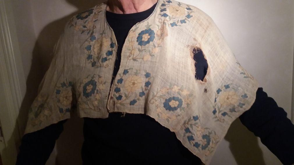 Den blodiga skjortan. Privat foto