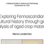 Genetiska studier av jordbruksväxternas historia