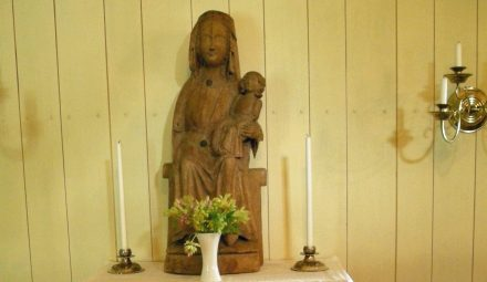 Stulen madonna tillbaka i Trankil efter sex år