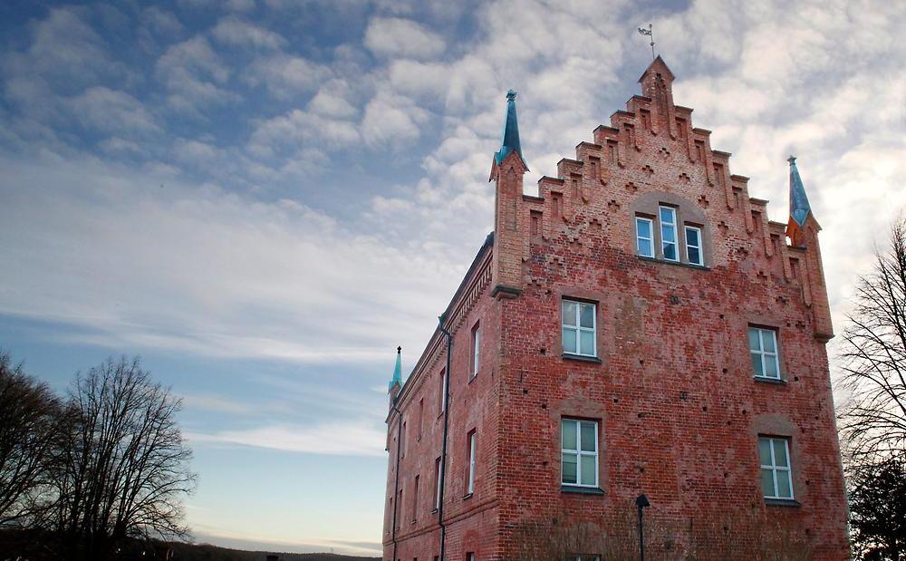 Roggeborgen. Foto: Emil Stenback/Kungliga biblioteket