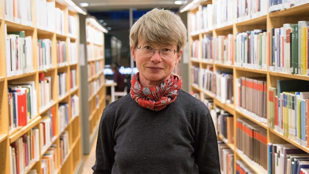 Professor Lena Liepe. Foto: Linnéuniversitetet