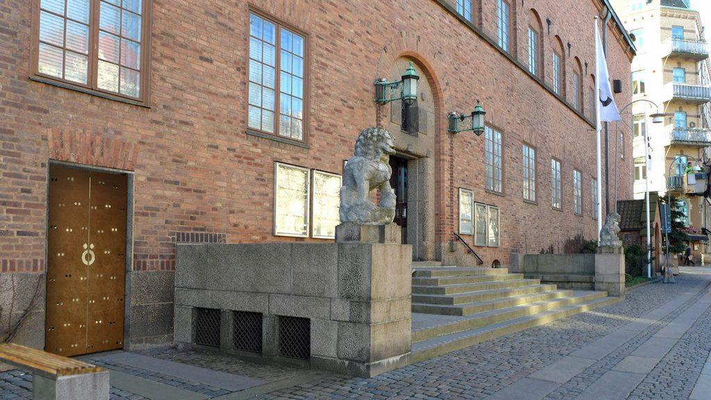 Röhsska museets entré. Foto: GAJD Arkitekter