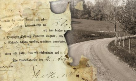 Pass i Sverige från Gustav Vasas tid till 1860