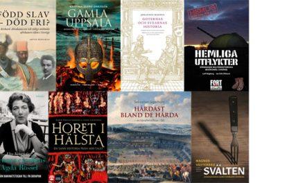 Rösta på Årets bok om svensk historia 2018