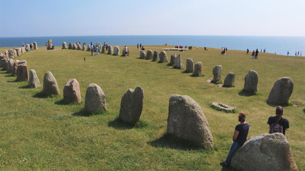 Ales stenar. Foto: Jorchr (Wikimedia Commons CC BY-SA 3.0)