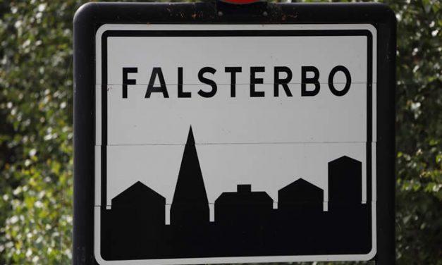 Finansman rev 1700-talshus i Falsterbo