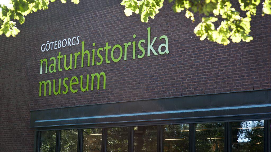 Fasaden på Göteborgs naturhistoriska museum. Foto: Ian Schemper