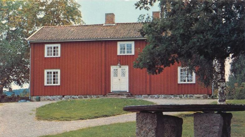 Svanskogs hembygdsgård. Vykort från 1960-talet