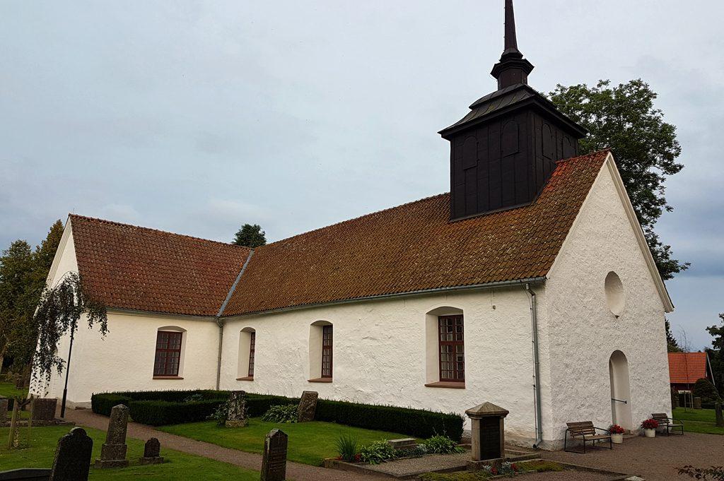 Tåssjö kyrka. Foto: Peter Kristensson/Klingsbergs Förlag