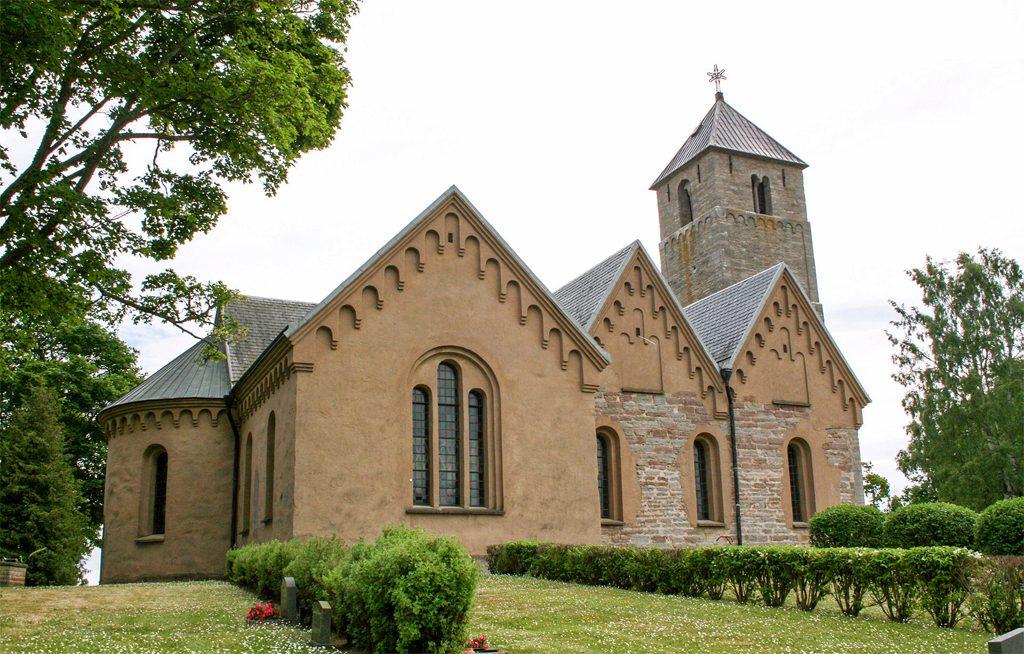 Heda kyrka utanför Ödeshög. Foto: Maria Svensk.