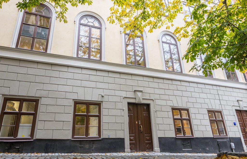 Judiska museet på Själagårdsgatan 19. Foto: Jonas Borg