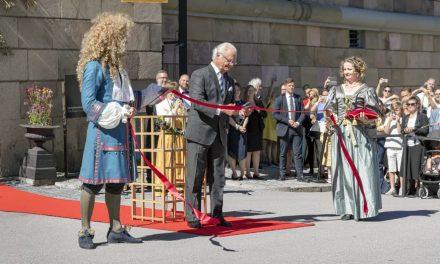 Kungen invigde nya Livrustkammaren