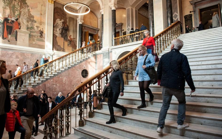 Återinvigningen av Nationalmuseum den 13 oktober 2018. Foto: Cecilia Heisser/Nationalmuseum