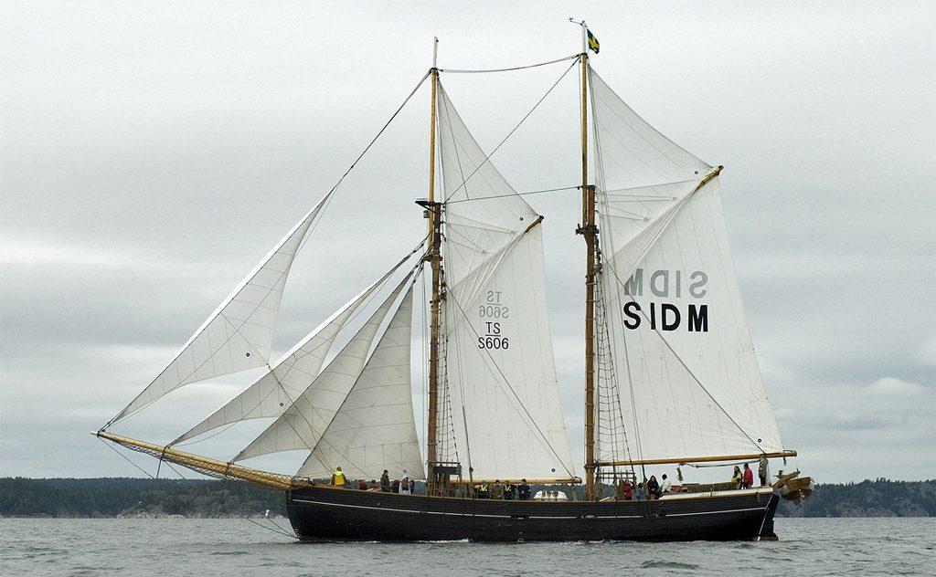 Segelfartyget Ellen. Foto: Karolina Kristensson/SMTM