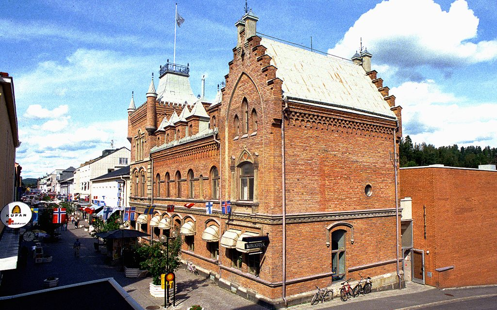 Sollefteå Museum. Foto: Dr Bus (Wikimedia Commons CC-BY-SA-3.0)