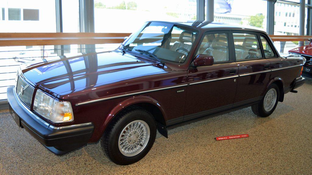 Volvo 240. Foto: Volvo museum