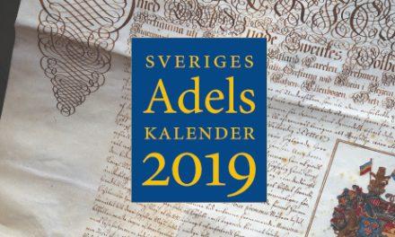 Adelskalendern 2019