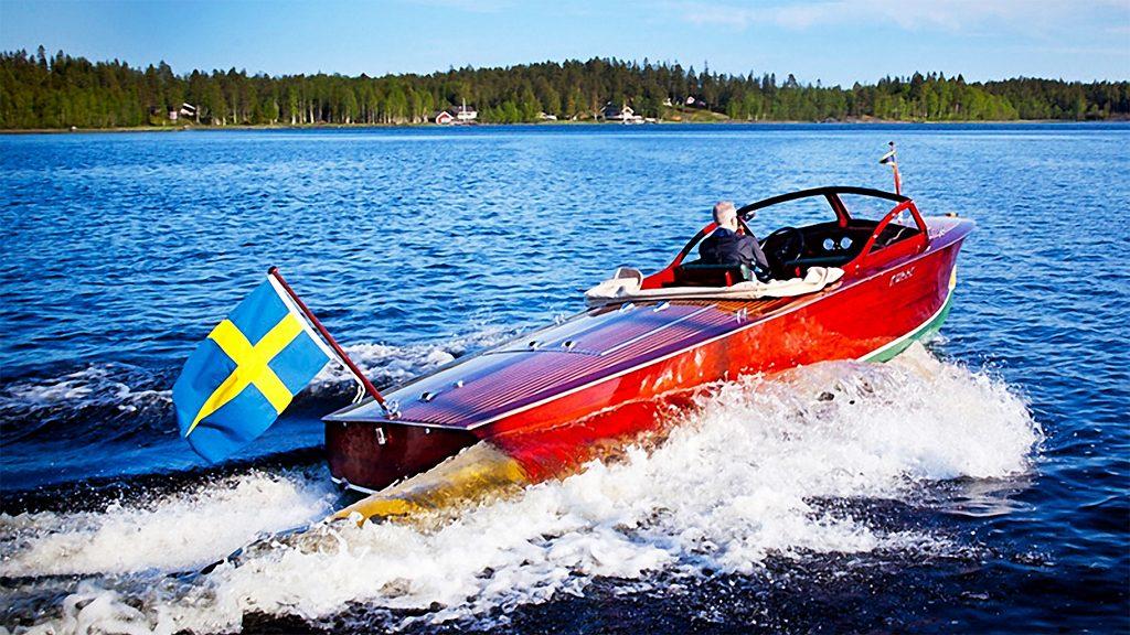 Essbåten Kurre II i Stockholm.