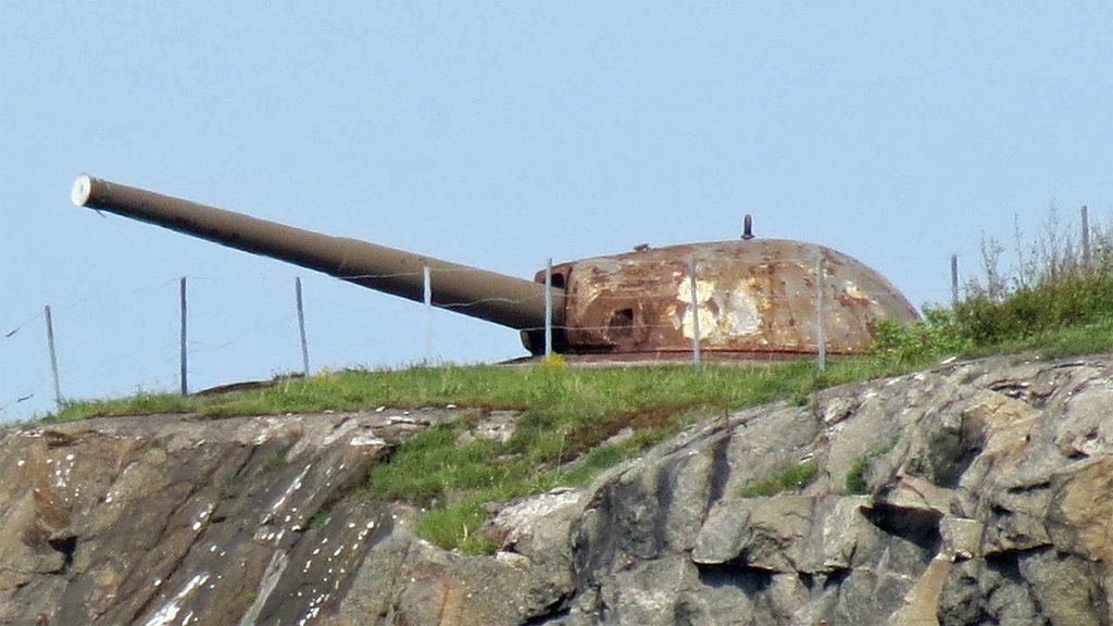 Oscar II:s fort. Foto: Saftgurka (Wikimedia Commons CC BY-SA 3.0)