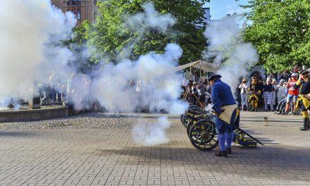 300-årsminnet av rysshärjningarna i Norrköping högtidlighålls