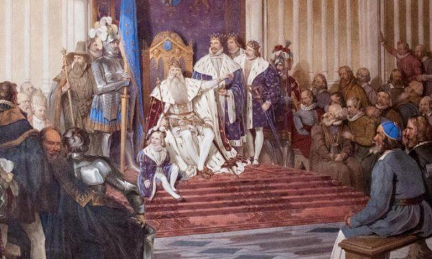 Arvsrätt till kronan minskade risken för krig och politisk instabilitet