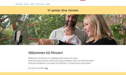 Berättelser om platser flyttar till Nordiska museet