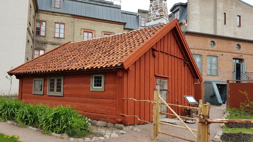 Onsjöstugan på Kulturen i Lund. Foto: Kulturen