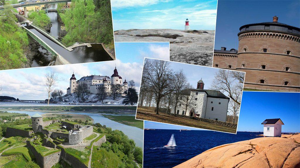 Västra Götalands sju underverk. Collage: Västarvet