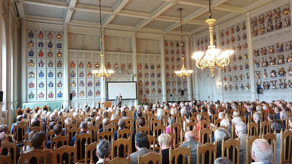 Invigningen av De svenska historiedagarna 2019. Foto: Peter Kristensson/Klingsbergs Förlag