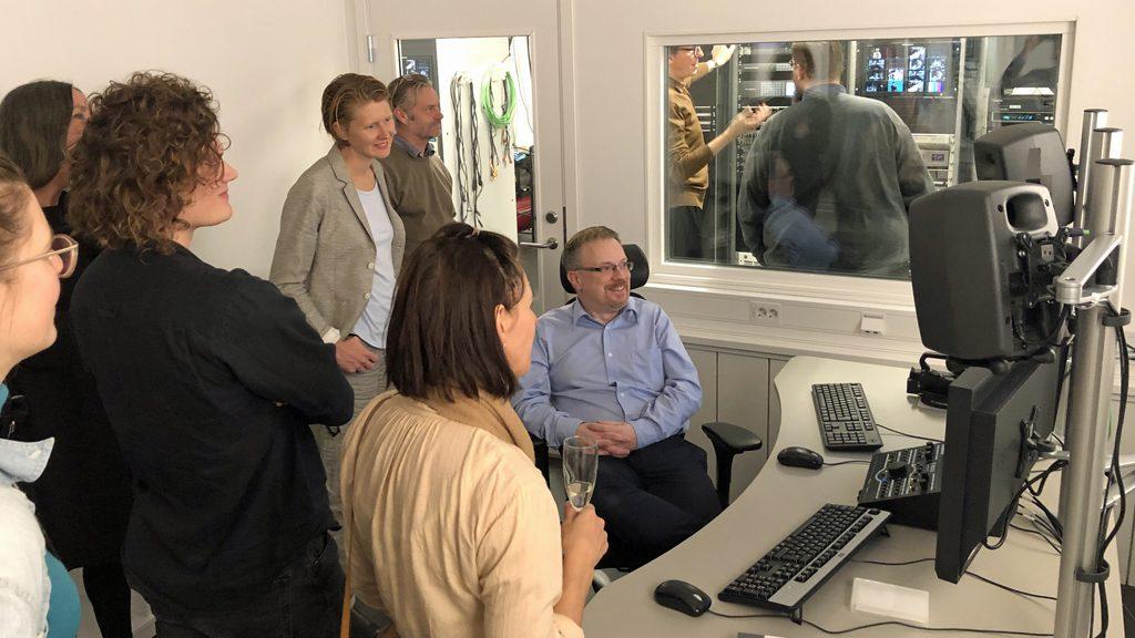 Invigning av Kungliga bibliotekets nya lokaler för digitalisering och datalabb. Foto: KB