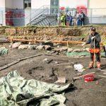 Kloster och professorsbostad grävs fram i Lund
