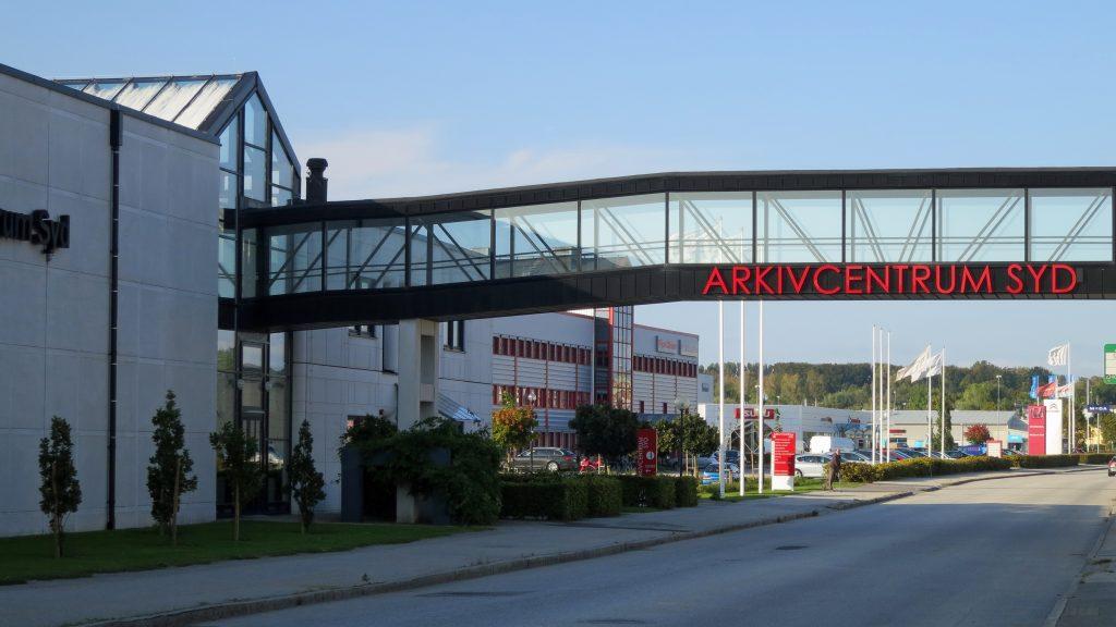 Arkivcentrum Syd i Lund. Foto: Jorchr (Wikimedia Commons CC-BY-SA-3.0)