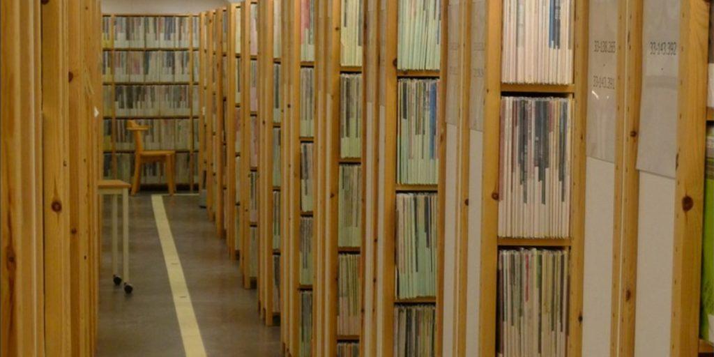 Grammofonarkivet. Foto: Urban Göranson/Sveriges Radio