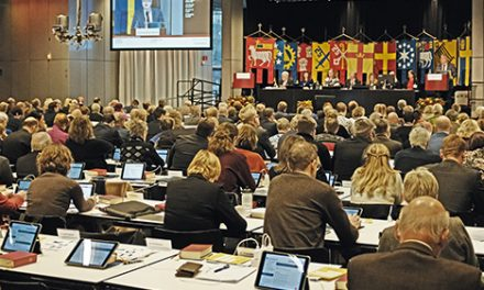 Politisk påverkan på kyrkomötet 1930–2018