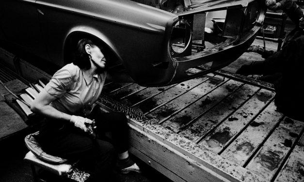 Svärta – svenska fotografer i den tunga industrin 1968–74