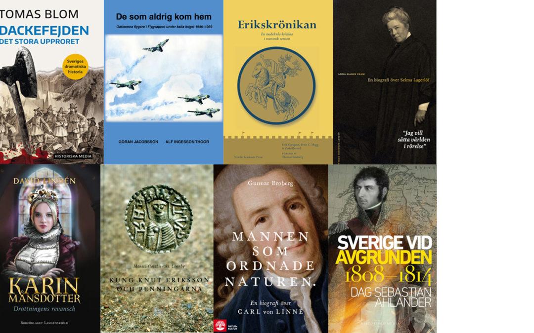 Var med och utse Årets bok om svensk historia 2019