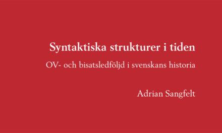 Svenska språket var friare på medeltiden