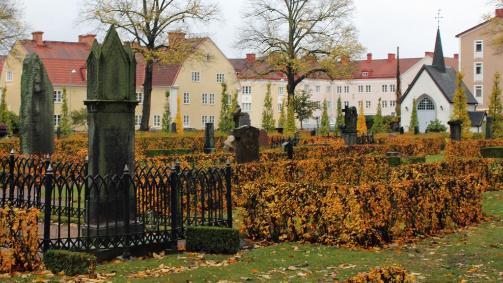 Södra begravningsplatsen i Norrköping. Foto: Peter Kristensson/Klingsbergs Förlag