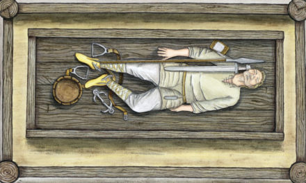 Medeltida krigare begravda i Polen kom från Skandinavien