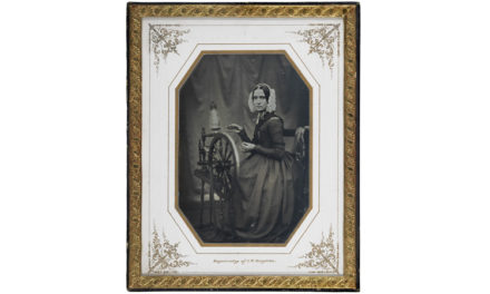 Nationalmuseum köper daguerreotyp från 1840-talet